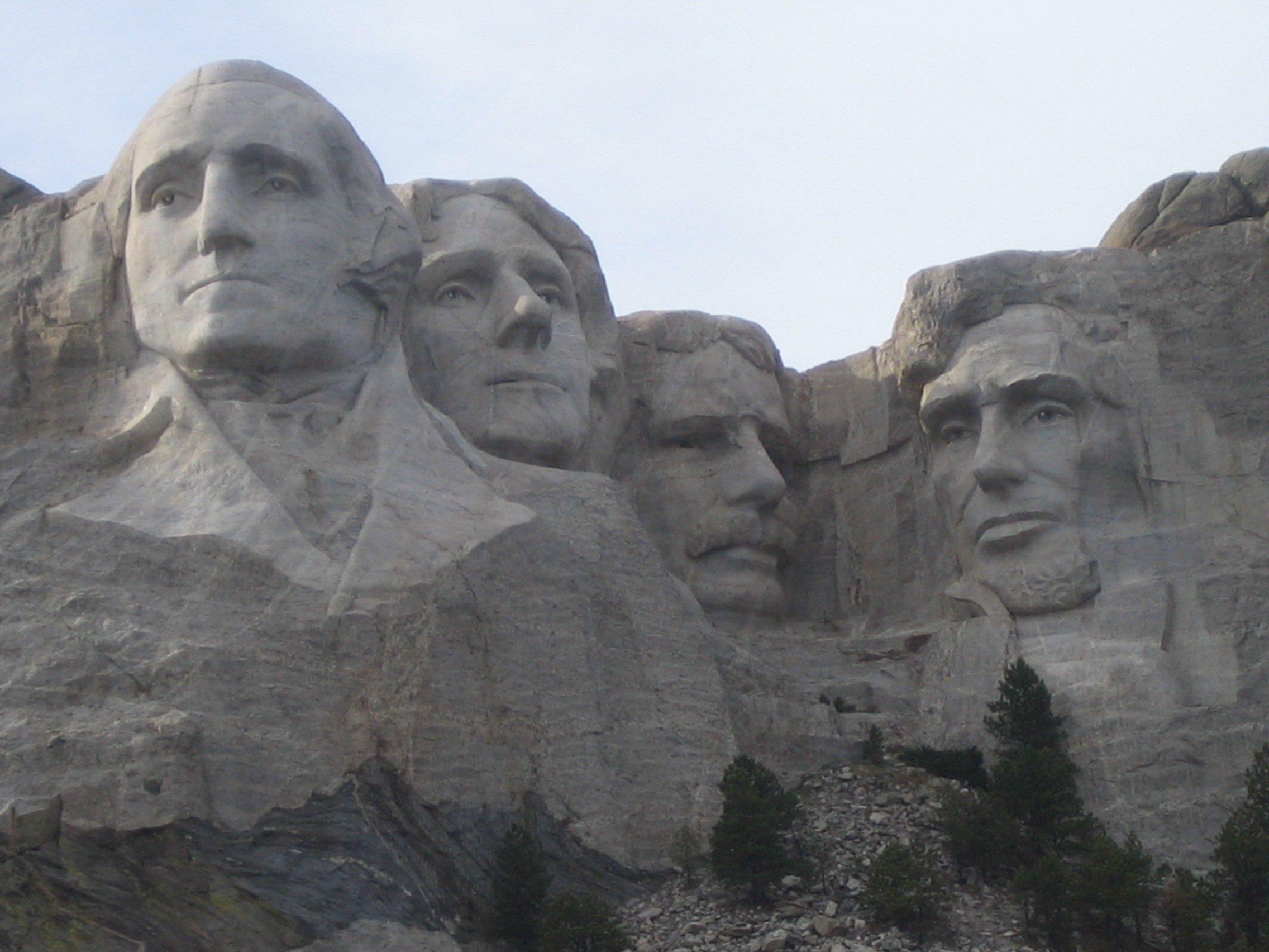 Mount Rushmore as public art?