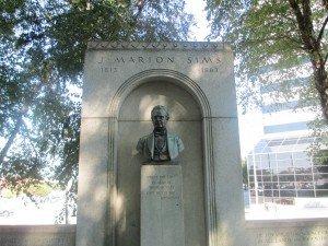 Statue of Dr. James Marion Sims, Columbia South Carolina
